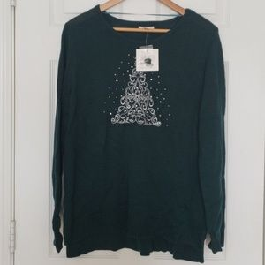Dark Green Christmas Sweater